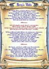 Derry's Walls - Lyric Scroll