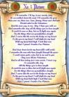 Number One Platoon - Lyric Scroll