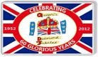 Loyalist Fridge Magnet -  H.M. Queen's Diamond Jubilee 1952-2012