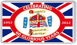 Loyalist Fridge Magnet -  H.M. Queen's Diamond Jubilee 1952-2012