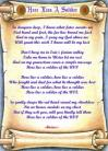 Here Lies A Soldier - Lyric Scroll