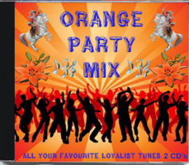 ORANGE PARTY MIX  2cd's
