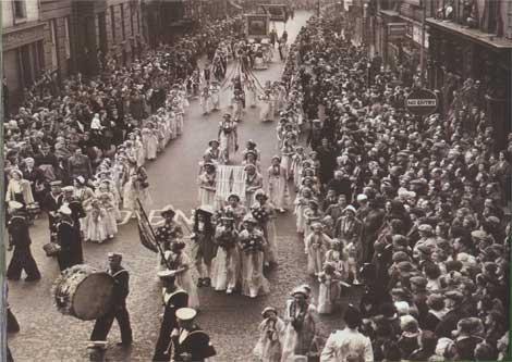 Moorfields 12th July 1954