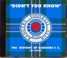 'DIDN'T  YOU  KNOW'   The History Of Rangers F.C.   Jim Lindsay