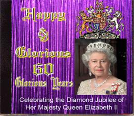 HAPPY & GLORIOUS - 60 YEARS - THE QUEENS DIAMOND JUBILEE - 2 CD's