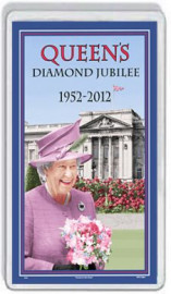 Loyalist Fridge Magnet -  H.M. Queen's Diamond Jubilee - 1952-2012