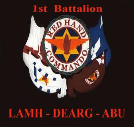 RED HAND COMMANDO 1st Battalion LAMH-DERG-ABU