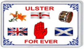Loyalist Fridge Magnet - ULSTER FOR EVER
